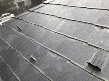 塗装が劣化したスレート屋根
