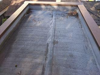シート防水からの雨漏り