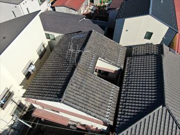 屋根全景引き