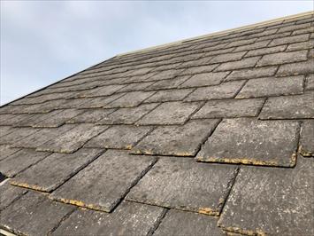 小平市仲町にて調査した屋根にはアーバニーが使われておりました