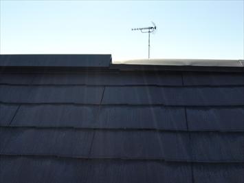 急勾配の屋根でもばっちり確認できます