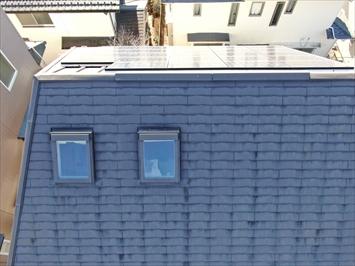 屋根材の劣化も確認できました