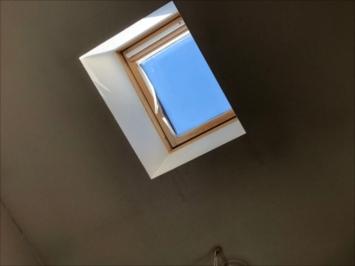 雨漏りを起こした天窓