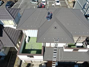 10年前に屋根葺き替え