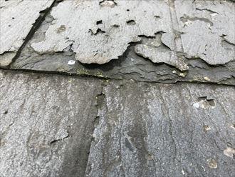 屋根材の強度の低下
