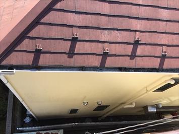 軒先に近い屋根材程劣化が早まります