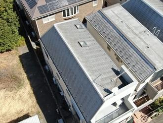 武蔵野市境にて屋根の点検、パラペットや天窓は雨漏りの原因になってしまうことがあります。