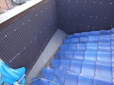 葺き直し工事で雨漏りを止めました