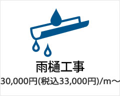 小平市で雨樋工事