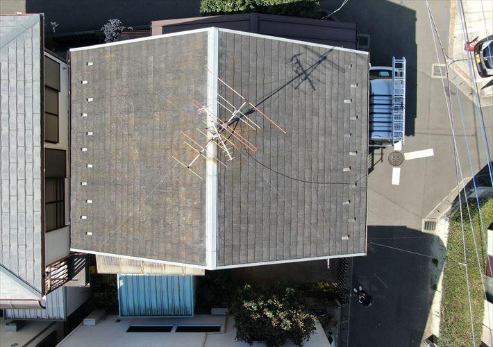 築30年スレート屋根