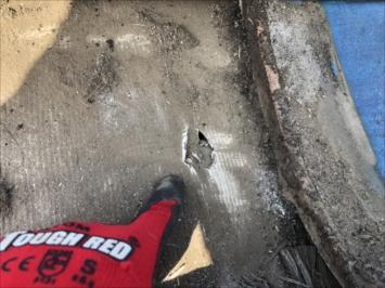 練馬区高野台で瓦屋根からの雨漏りを点検しました