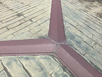 棟の継ぎ目のシーリングの劣化
