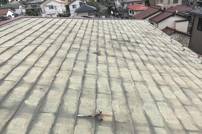 30年を超えたスレート屋根