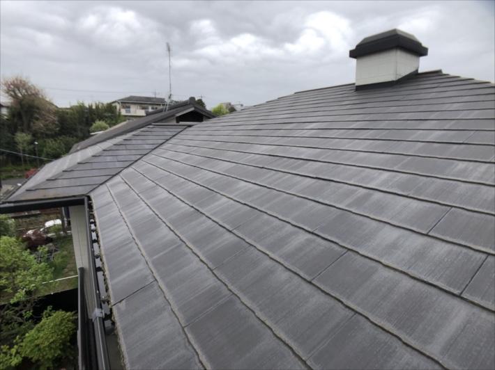 三鷹市仲原で松下電工の廃盤屋根材「ニューフルベスト24」の屋根を点検しました