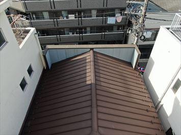 パラペットのある屋根