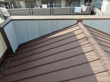 雨漏りしている側の屋根