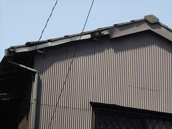 葛飾区新小岩でOB客様から屋根の補修工事の調査依頼を頂きました