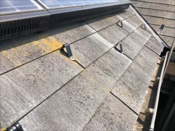 大田区中馬込で調査した屋根はアスベスト入りのグリシェイドでした