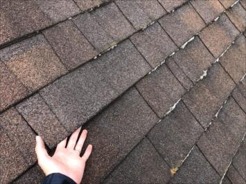 多摩市諏訪でオシャレなアスファルトシングルの屋根を点検しました