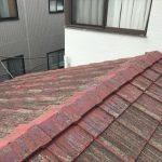 築40年を超えたセメント瓦の屋根