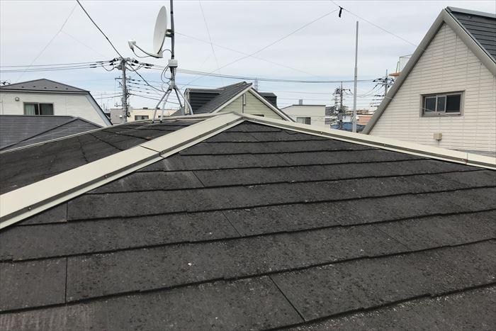 築30年を経過したスレート屋根