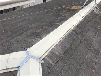 葛飾区四つ木で築25年のお住まいのスレート屋根調査、複数のお手入れ法をご提案