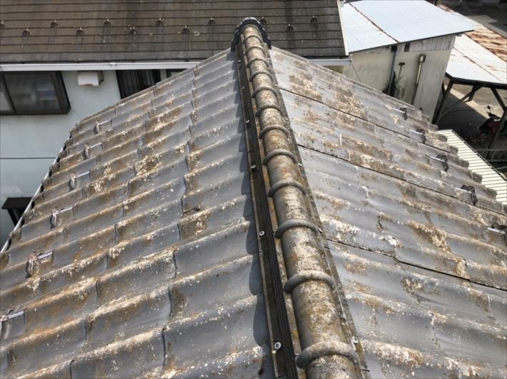 セキスイかわらUの屋根
