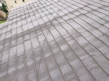 数年前に塗装した屋根