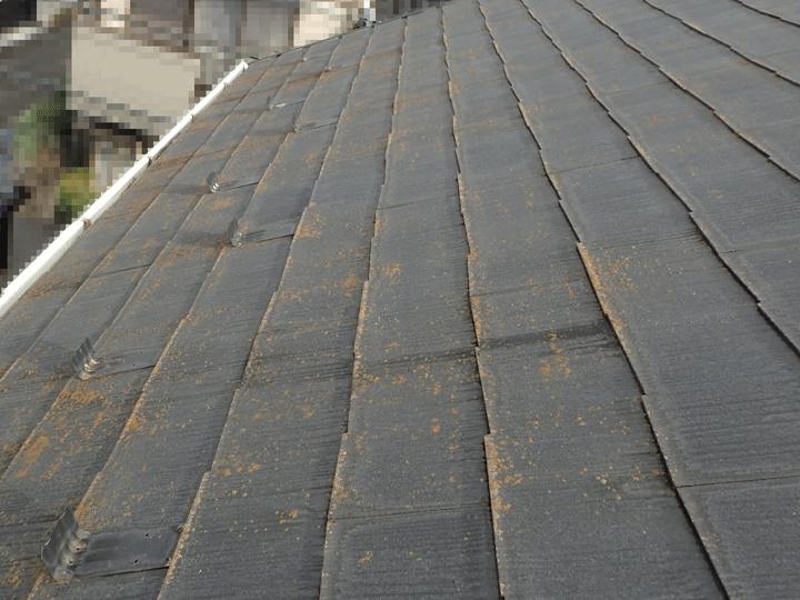 練馬区早宮にて屋根塗装による定期的なメンテナンスを実施されているお客様宅の現地調査