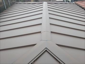 修理後の屋根