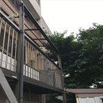 平板屋根の交換完了