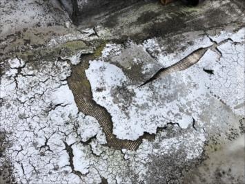 国立市富士見台で20年目の屋上防水を点検しました