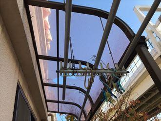 平板屋根の損壊