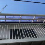 ベランダの平板屋根