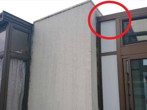 屋上に設置したサンルーム