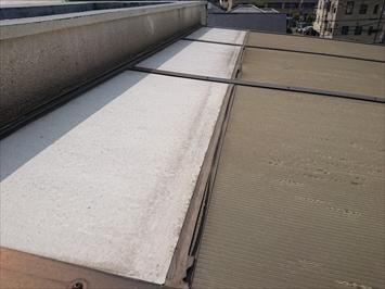 屋根が継ぎ足してあります
