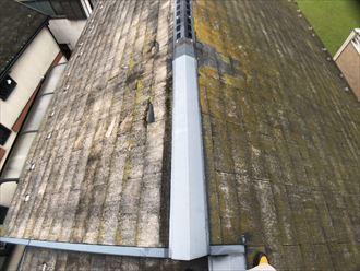 レサスが使用されているスレート屋根