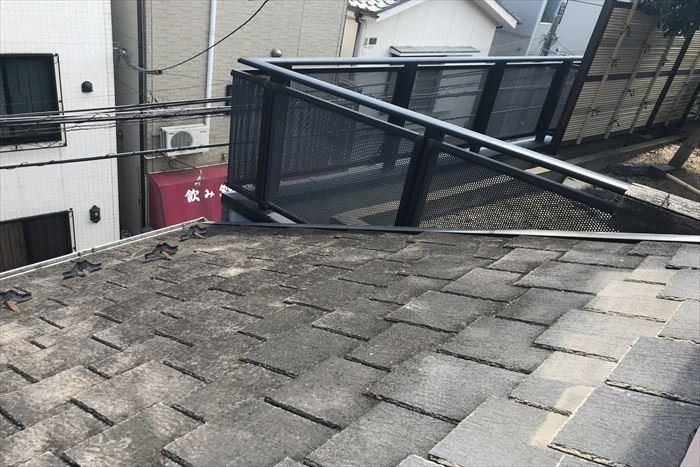 屋根表面の劣化症状